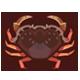 首長黃道蟹|集合啦!動物森友會|海洋生物