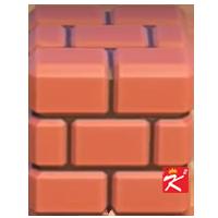 動森超級瑪利歐家具-磚塊