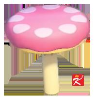 動森超級瑪利歐家具-蘑菇地形S