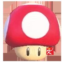 動森超級瑪利歐家具-超級蘑菇