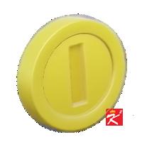 動森超級瑪利歐家具-金幣