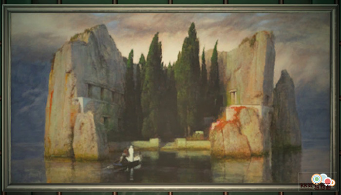 動森博物館藝術品鑑定-神秘的名畫