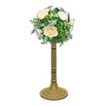 動森 六月新娘 婚禮家具 婚禮花柱-典雅