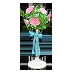 動森 六月新娘 婚禮家具 婚禮花柱-可愛