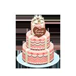動森 六月新娘 婚禮家具 婚禮蛋糕