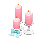 動森 六月新娘 婚禮家具 婚禮蠟燭-可愛