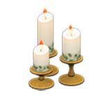 動森 六月新娘 婚禮家具 婚禮蠟燭-花園