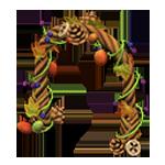 動森 秋季樹果系列 樹果拱門-棕色