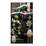 動森 秋季樹果系列 樹果掛飾-白色