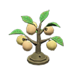 動森 秋季樹果系列 樹果燈-白色