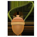 動森 秋季樹果系列 橡栗側背包