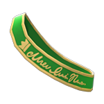 動森畢業舞會綬帶-綠