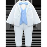 動森 六月新娘 婚禮服飾-純白晚禮服