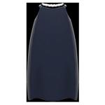 動森畢業舞會絲質洋裝-黑