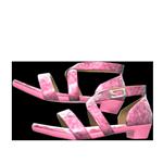 動森畢業舞會舞鞋-粉紅