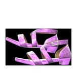 動森畢業舞會舞鞋-紫