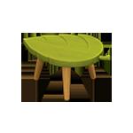 動森 秋季樹果系列 落葉凳子-綠色