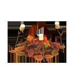 動森 秋季樹果系列 落葉炊火-棉花糖