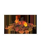 動森 秋季樹果系列 落葉炊火