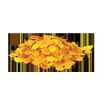 動森 秋季樹果系列 黃色落葉