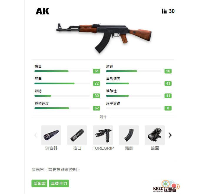 Garena Free Fire 突擊步槍 AK