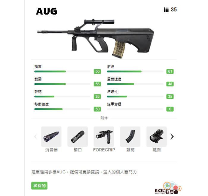 Garena Free Fire 突擊步槍 AUG