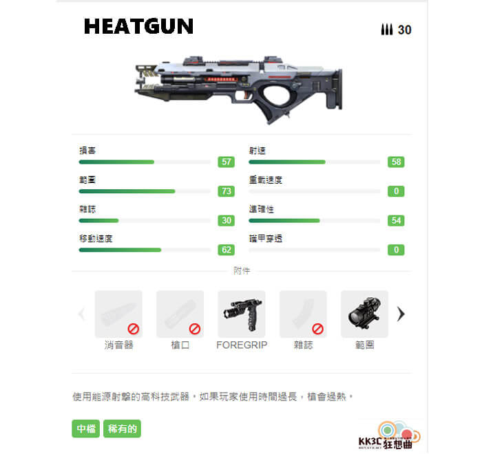 Garena Free Fire 突擊步槍 HEATGUN