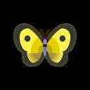 集合啦!動物森友會!昆蟲  斑緣點粉蝶