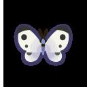集合啦!動物森友會!昆蟲  白粉蝶