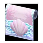 動森人魚家具系列:人魚壁紙
