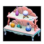 動森人魚家具系列:人魚架子