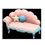 動森人魚家具系列:人魚沙發