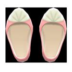 動森人魚服飾系列:人魚鞋A