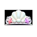 動森人魚服飾系列:人魚頭冠