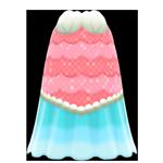 動森人魚服飾系列:人魚魚兒洋裝A