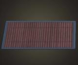 動森竹子DIY 深色竹地毯