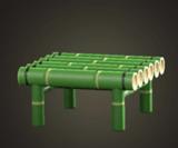 動森竹子DIY 竹凳子