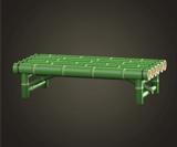 動森竹子DIY 竹長椅