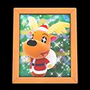 動森聖誕平安夜活動-鈴鈴鹿的照片