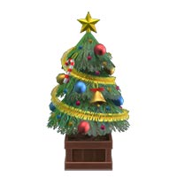 動森 聖誕節裝飾家具DIY 方程式(可愛聖誕樹)-03