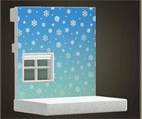 動森雪季完整攻略:雪花牆壁紙
