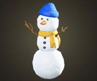 動森雪季完整攻略:三層雪人