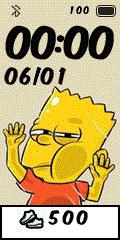 [親測]Q版動漫 撞玻璃錶盤分享-Bart