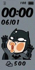 [親測]Q版動漫 撞玻璃錶盤分享-Batman
