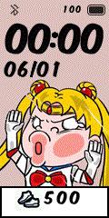 [親測]Q版動漫 撞玻璃錶盤分享-Sailor-moon