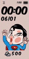 [親測]Q版動漫 撞玻璃錶盤分享-Superman