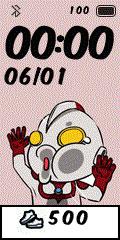 [親測]Q版動漫 撞玻璃錶盤分享-Ultraman