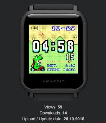 Amazfit米動手錶私藏錶盤-09