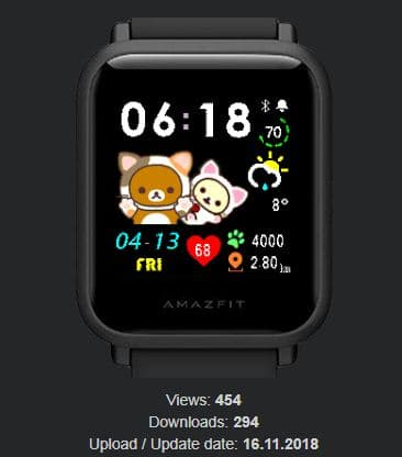 Amazfit米動手錶私藏錶盤-12