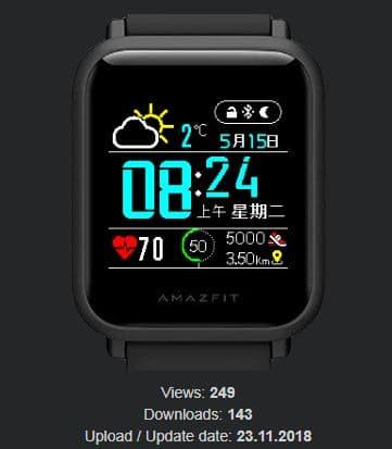 Amazfit米動手錶私藏錶盤-13